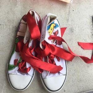 Ariel Converse-Like High Top Sneakers